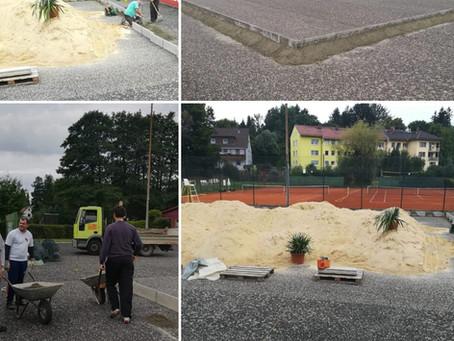 Ein Beachplatz in Erkersreuth
