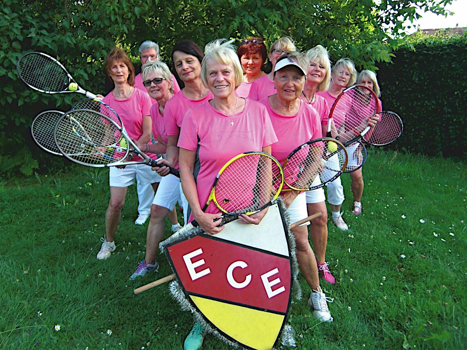ECE Damen - Mannschaftsfoto