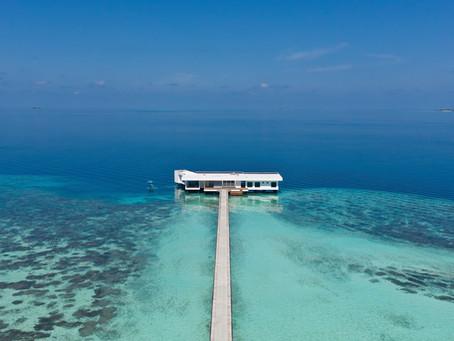 Enjoying splendid isolation in the Maldives
