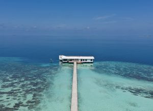 Splendid isolation in the Maldives