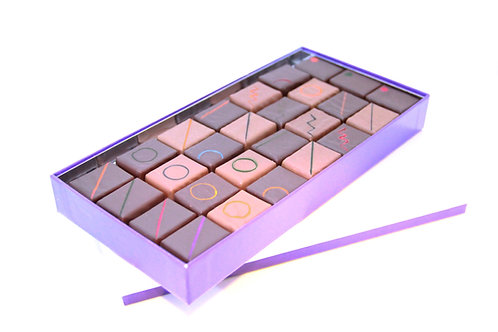 Coffret de 27 chocolats