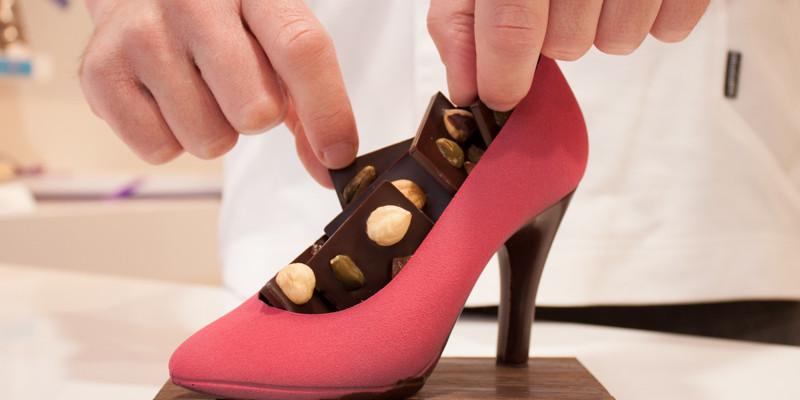 Création en chocolat