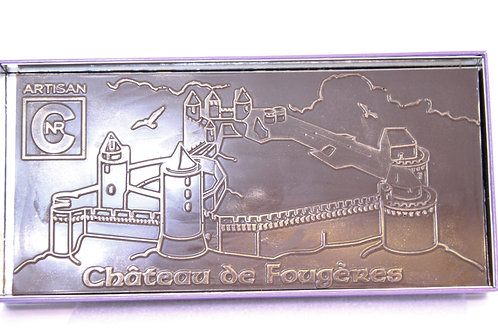 """Tablette """"Château de Fougères"""