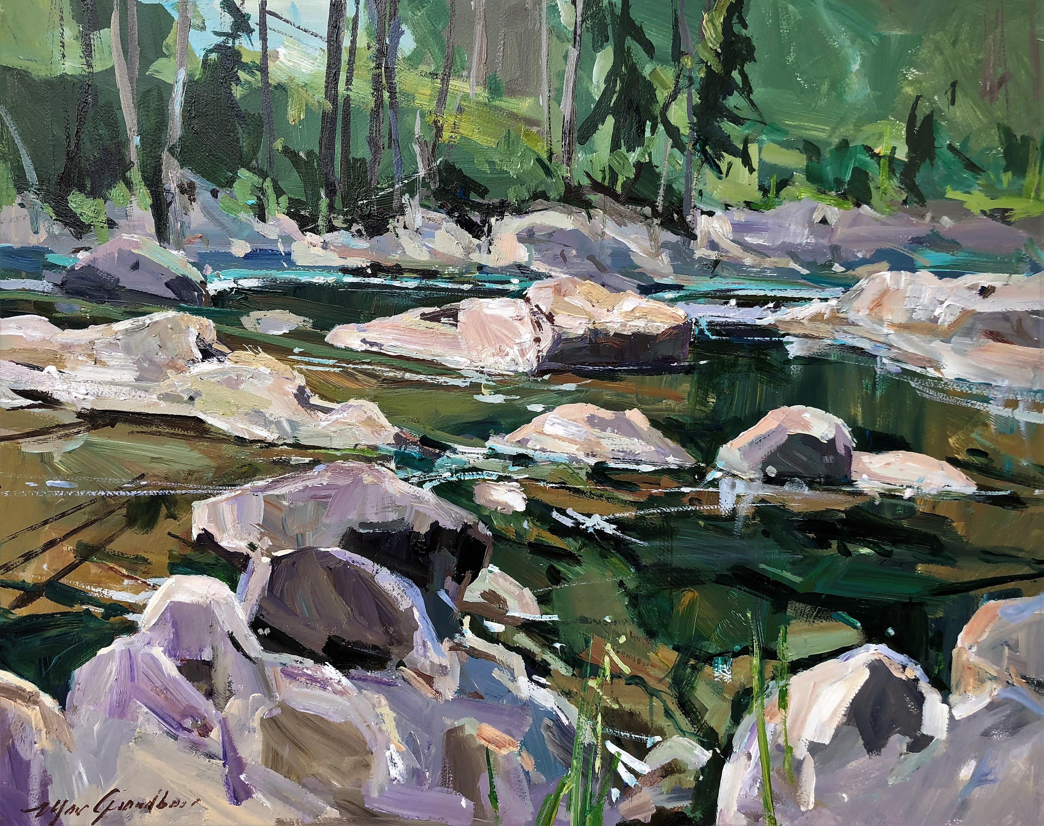 Première impression, rivière St-Jean