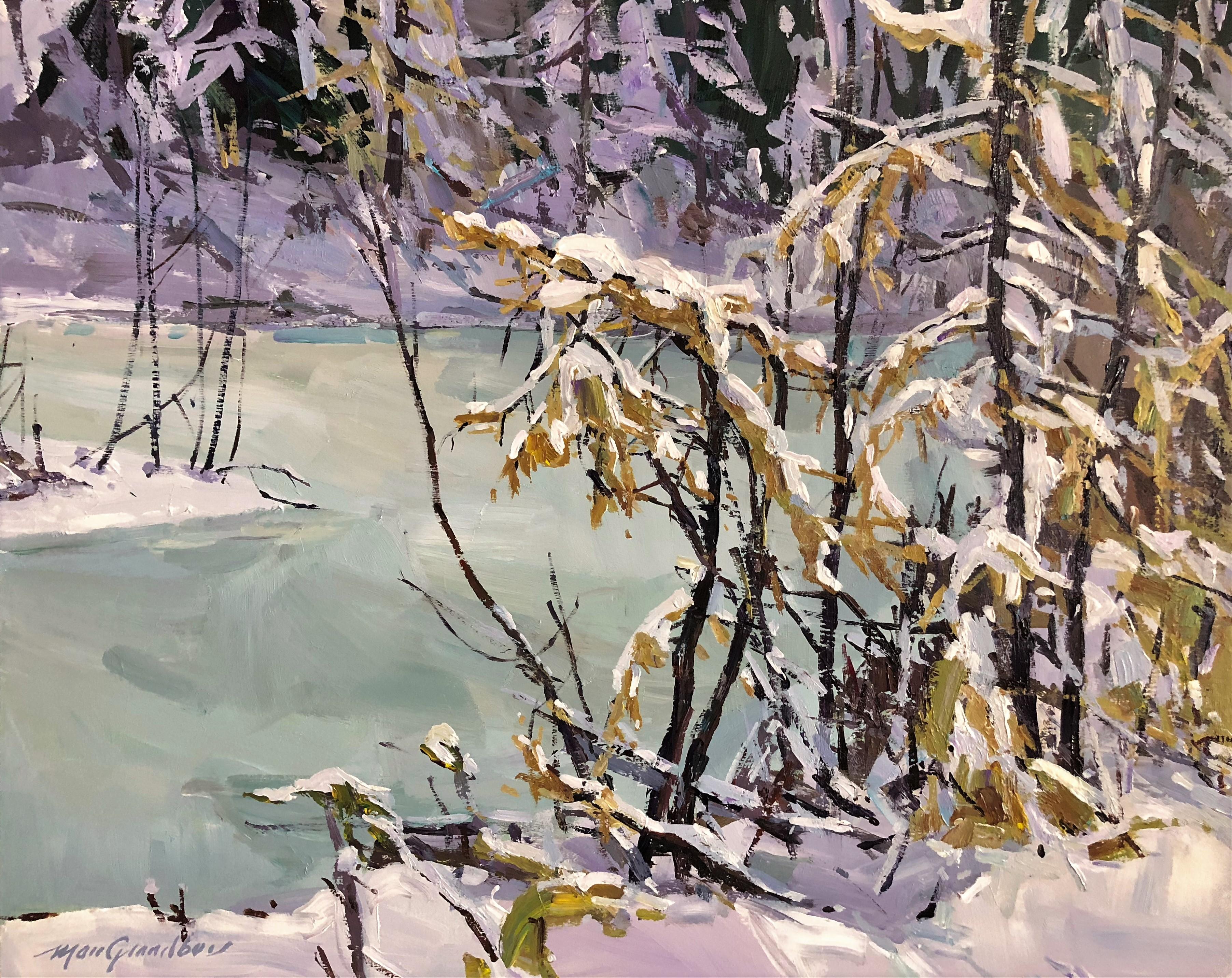 Neige fondante neige pesante neige f