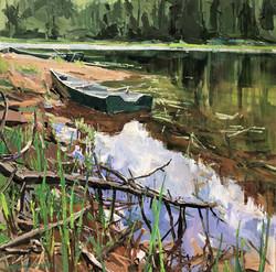 Barques au repos, Lac Des Foins
