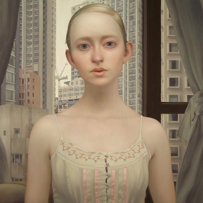 The Girl Who FInds You Here oil painting by Lu Cong