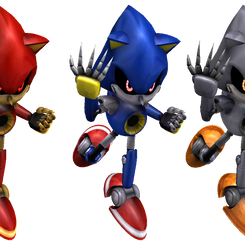 Metal Sonic Model Rework