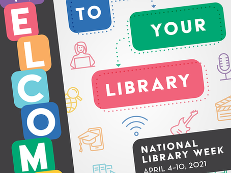 National Library Week - books...