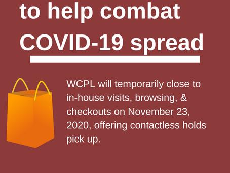 WCPL Services Update 11-23-20