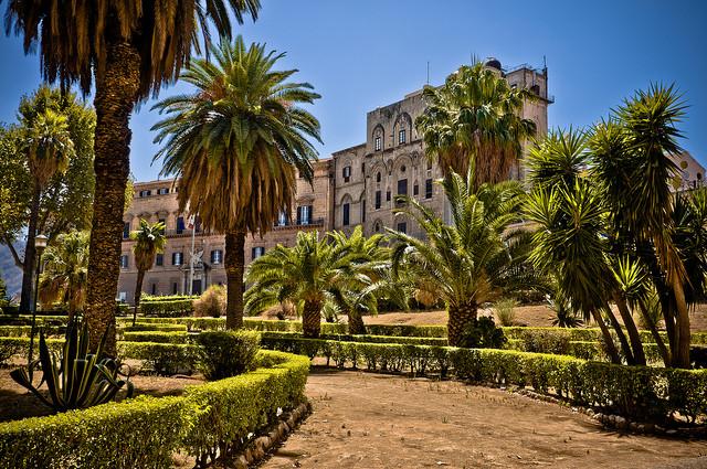 Palermo ed i suoi monumenti: Palazzo dei Normanni
