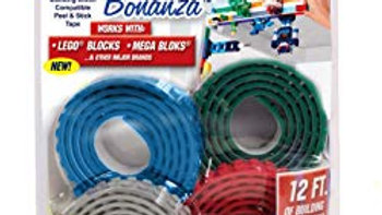 Build Bonanza BZ2M1-MC12/6 Self Adhesive Tape Works Building Block Tape
