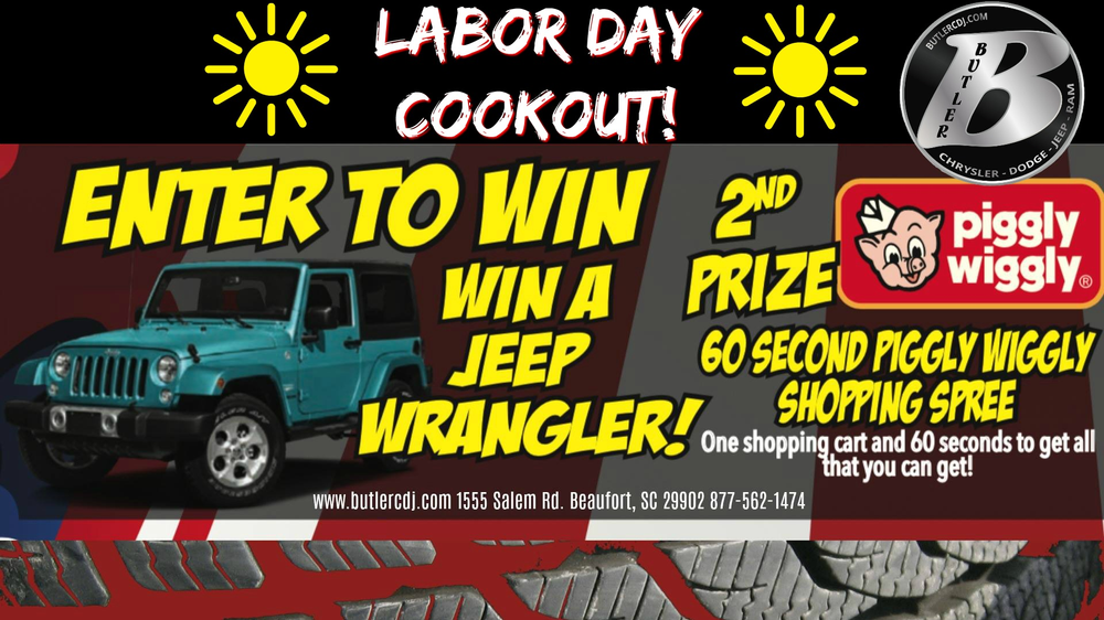 Butler Chrysler Dodge Jeep Ram Labor Day Jeep Giveaway