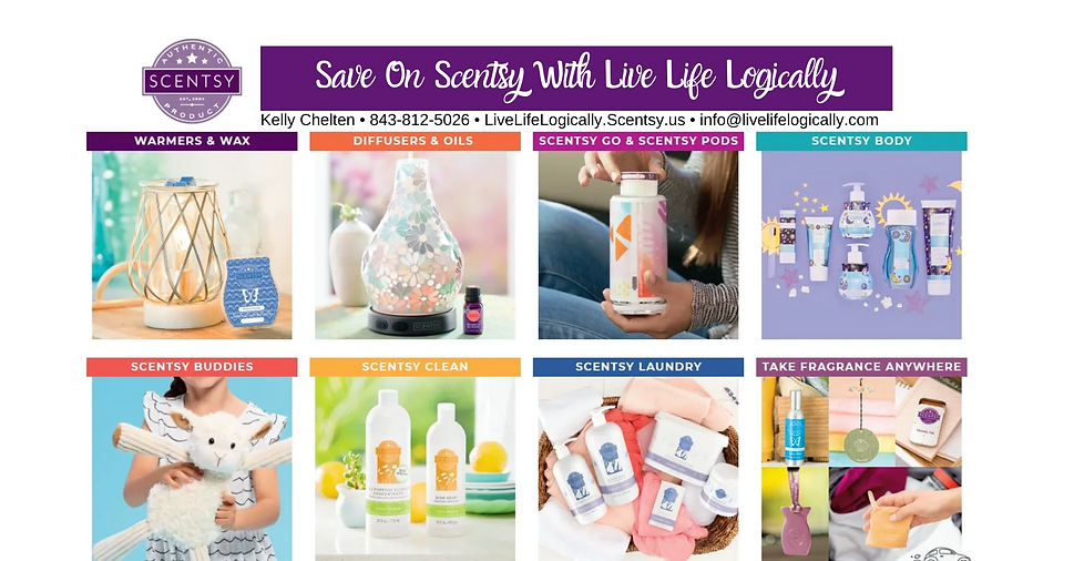 with contact info Save On Scentsy With L