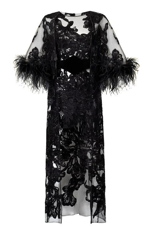 Sukienka i narzutka NOIR (komplet)