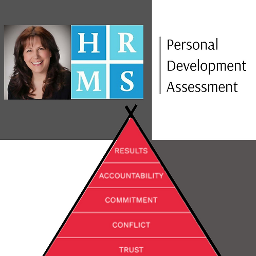 The 5 Behaviors of a Cohesive Team Assessment
