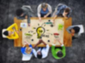 Multi-Ethnic Group of People Planning Id