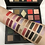 The swatches for each shadow from the Snow-Daze palette.