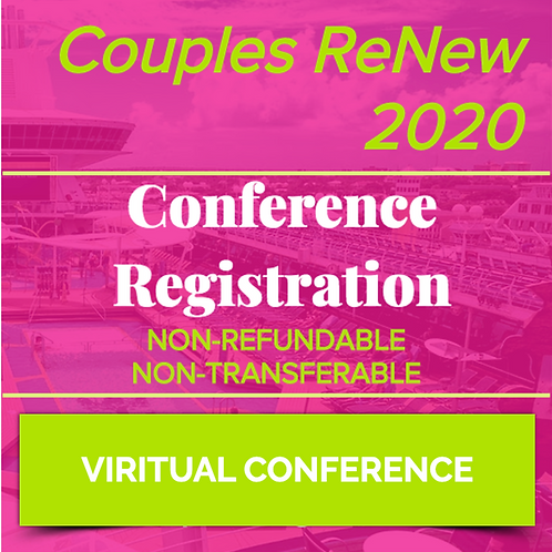 VIRTUAL - Couples ReNew 2020 - Registration for one couple - NON-REFUNDABLE