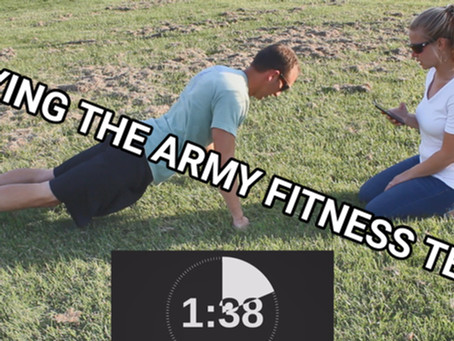 OCR Athlete Tries To MAX The (Old) US Army Fitness Test