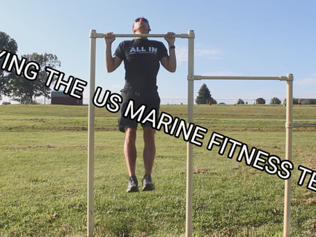 OCR Athlete Tries to MAX The US Marine Fitness Test