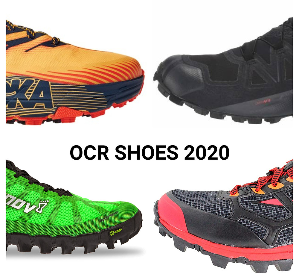 OCR Shoes 2020 - What 100 OCR Athletes