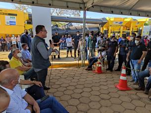 Obras para instalação da usina de asfalto de Vilhena começam, veja cronograma