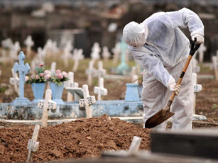 Brasil atinge marca de 400 mil mortos pela covid-19