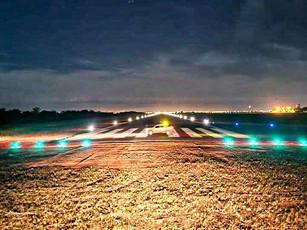 Balizamento e cerca operacional do aeroporto de Vilhena estão em andamento
