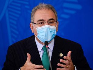 Ministério da Saúde anuncia 15,5 milhões de doses de vacina da Pfizer até junho