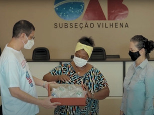 OAB doa máscaras VNI para tratamento de casos graves da covid-19
