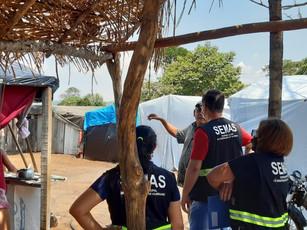 Cras Itinerante leva atendimento a famílias em assentamento no Distrito de São Lourenço