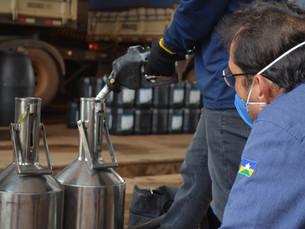 Ipem realiza fiscalização em bombas de combustíveis em Vilhena