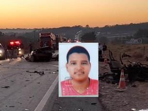 Motorista de 19 anos morre em acidente na BR-364 em Vilhena