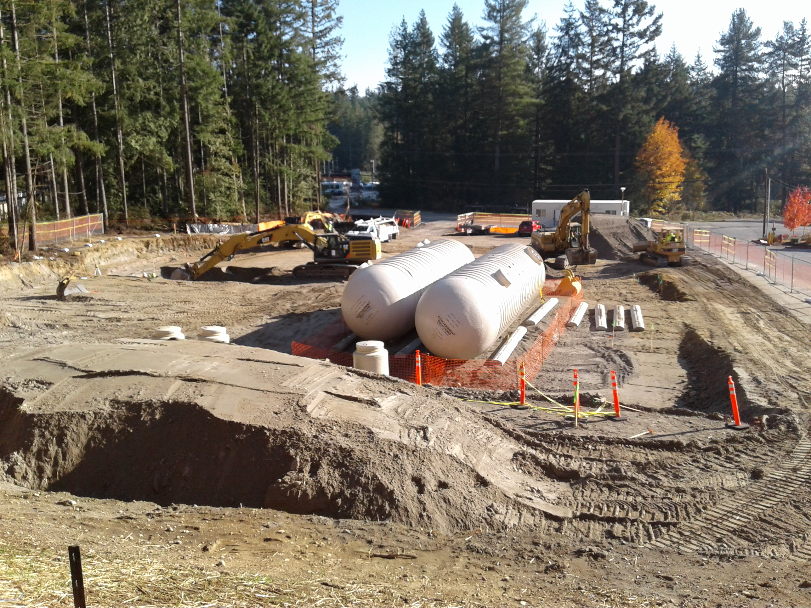 Fuel Station Site Development
