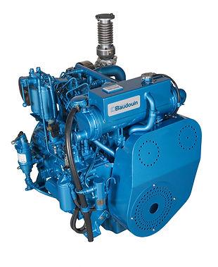 BAUDOUIN MARINE ENGINE 4 W105M