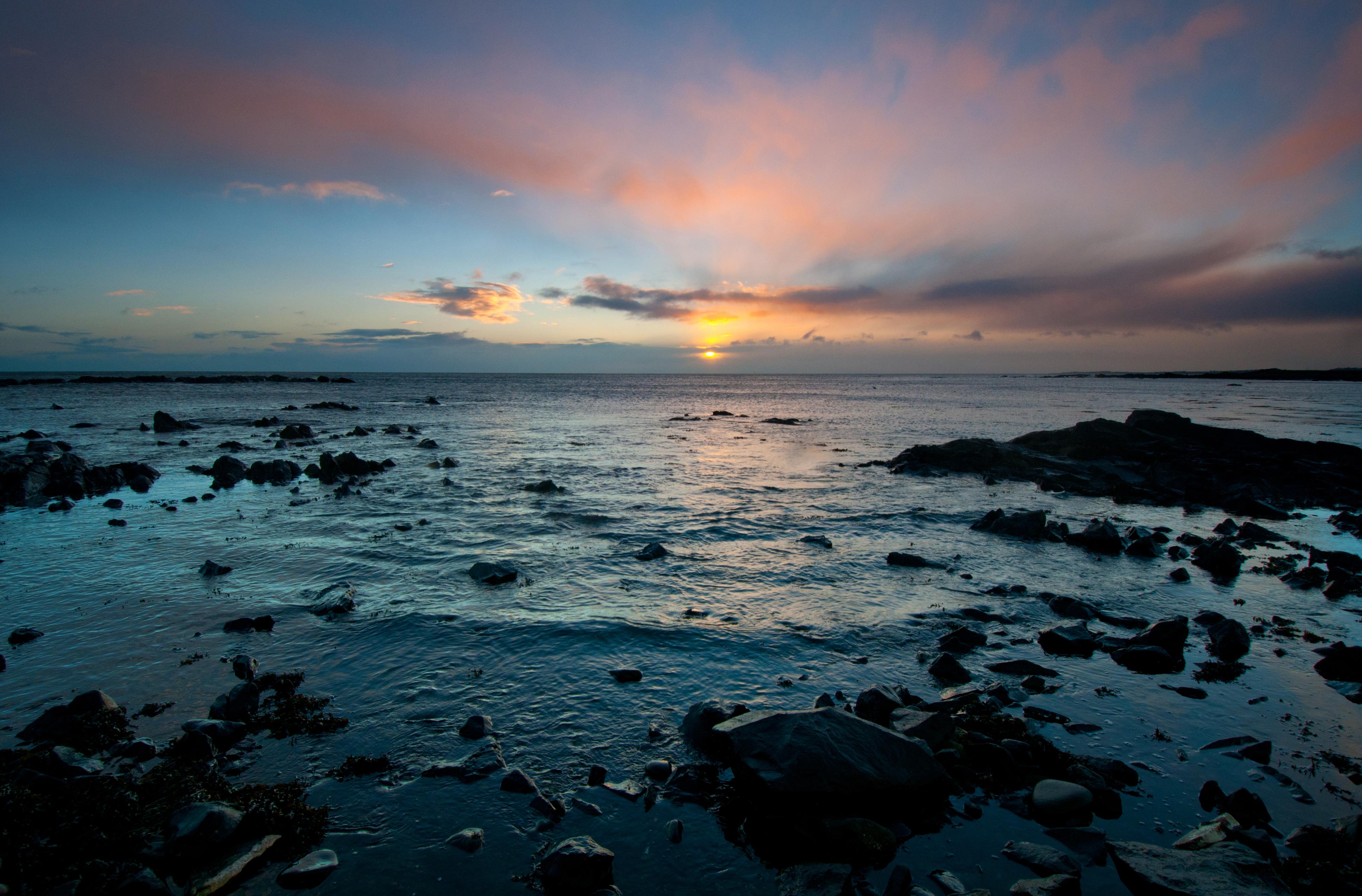 Sunrise after Storm Eleanor