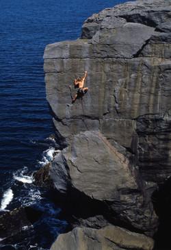 'Siren' Climber Paul swail