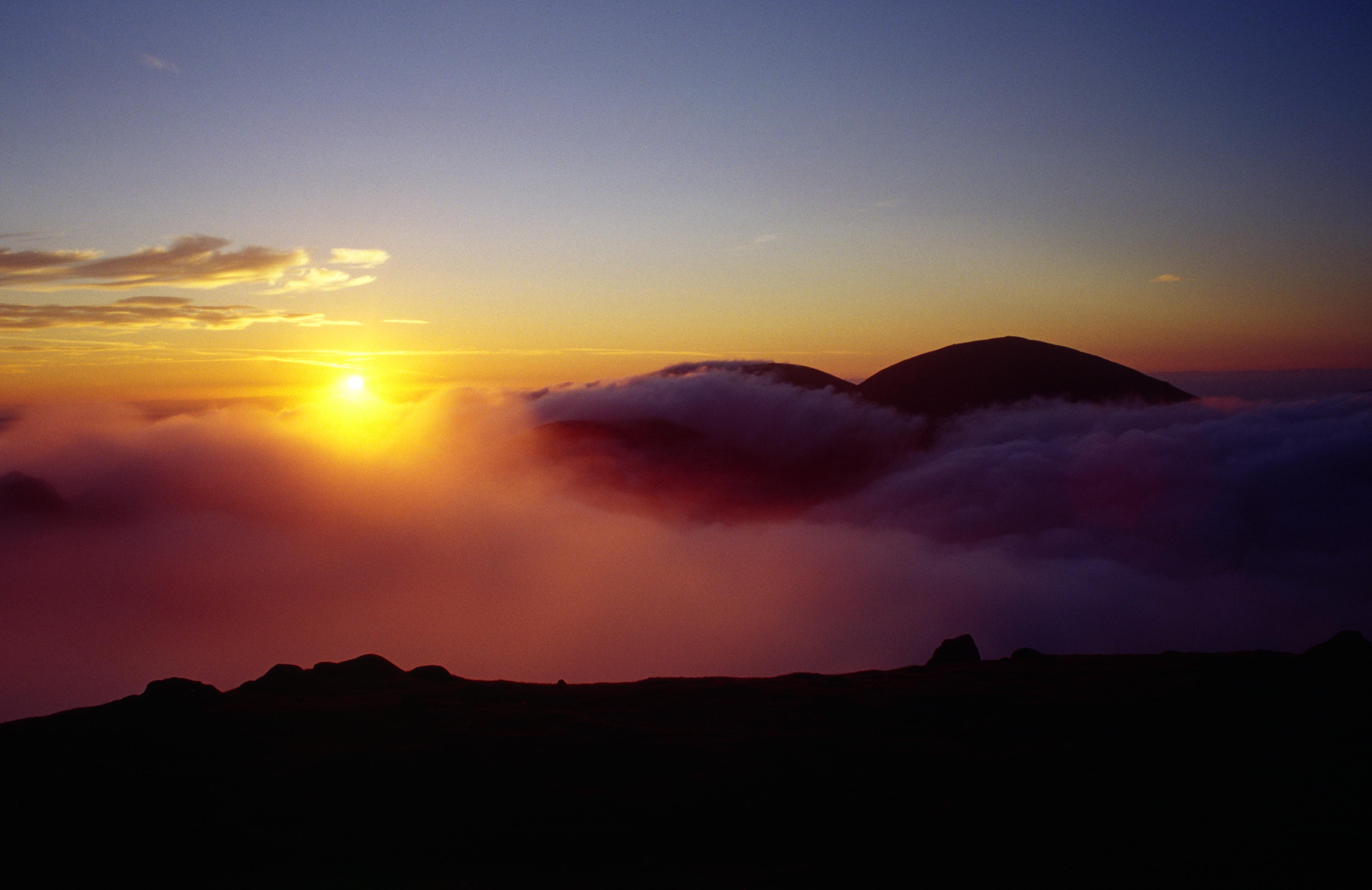 Slieve Donard & Cloud Inversion at Sunrise