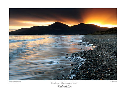 hillerscapes,prints,mournes,craig,hiller,christmas,gifts,ireland,travel,Co Down,Murlough,Bay