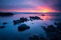 Blazing Sky at Sunrise