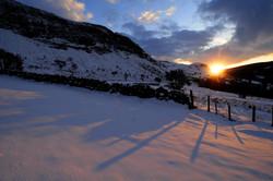 Sunset Shadows at Glenariff