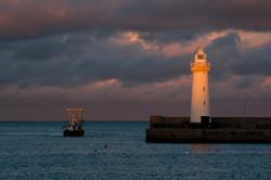 Winter Sunset, Donaghadee Lighthouse