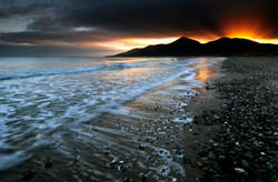 The Mountains of Mourne at Sunset