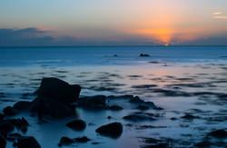 Receding Tide at Sunrise