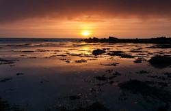 Sunrise over the Donaghadee Coast