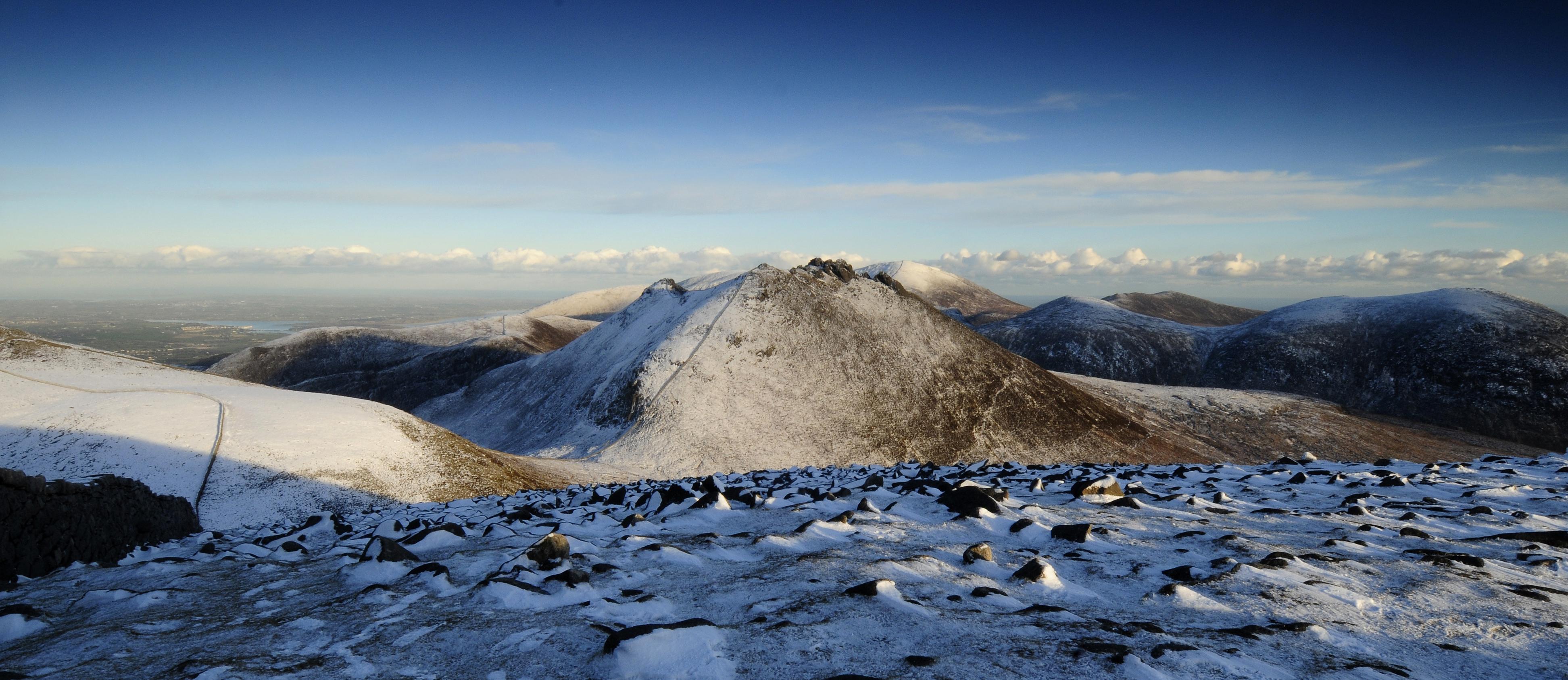 Winter Panoramic of Slieve Bearnagh