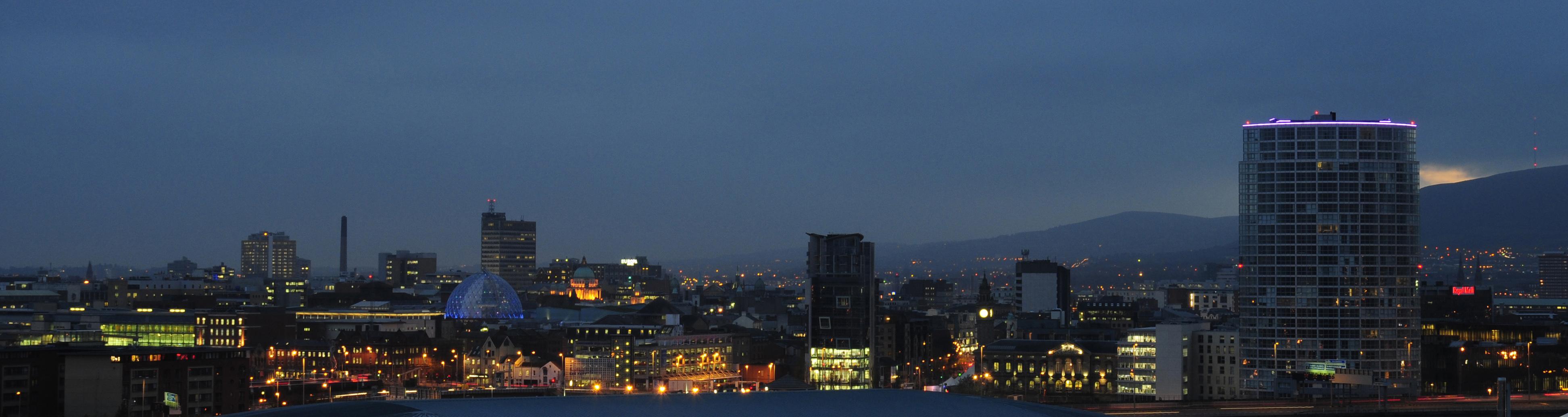 City Lights Panorama
