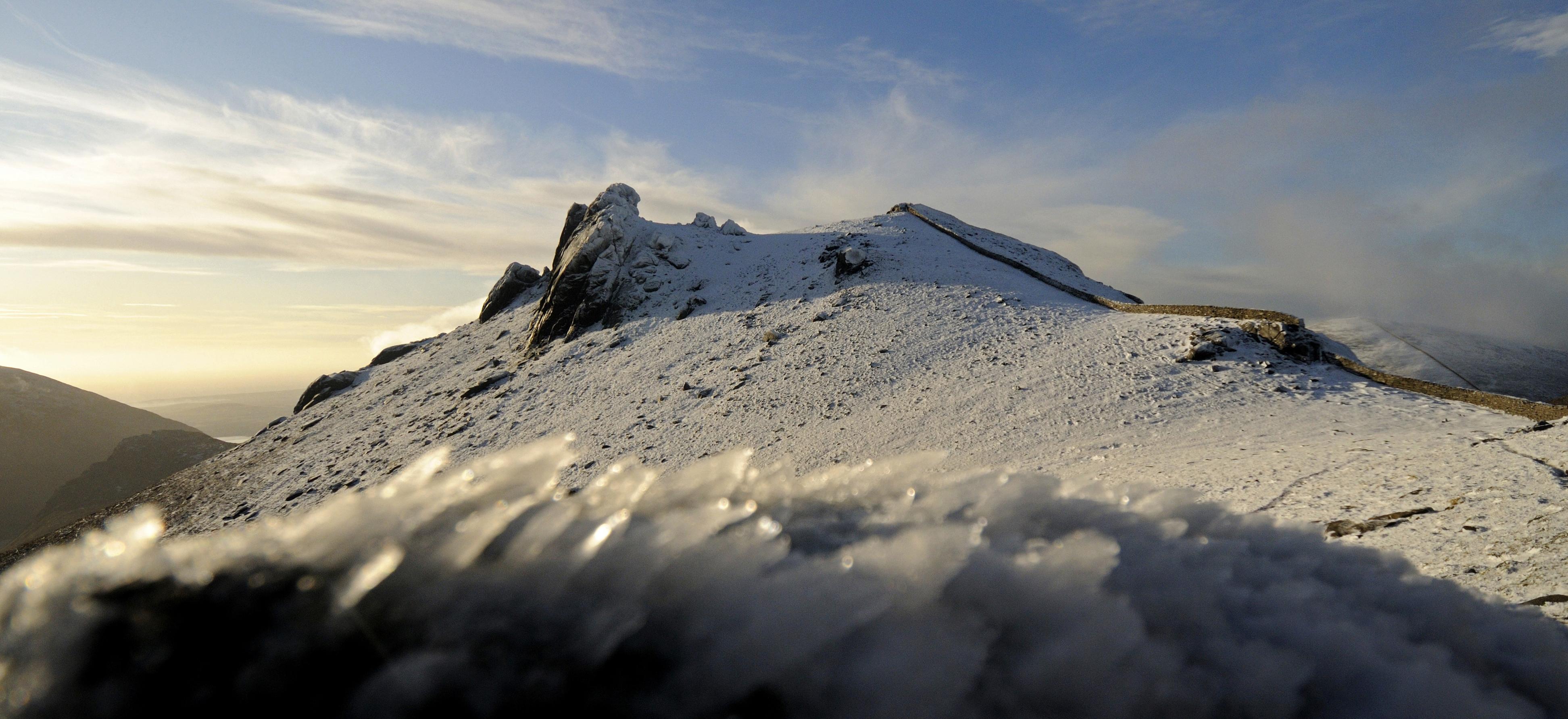 Slieve Bearnagh's Frozen Summit Tor