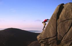 Bouldering on Slieve Bearnagh